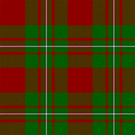 MacGregor Tartan (Red and Green) // Large fabric by thinlinetextiles on Spoonflower - custom fabric