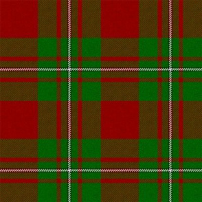 MacGregor Tartan (Red and Green) // Large