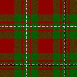MacGregor Tartan (Red and Green) // Large