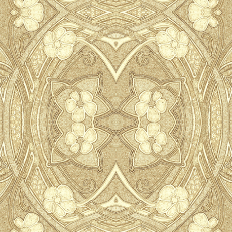 Whispering Sands fabric by edsel2084 on Spoonflower - custom fabric