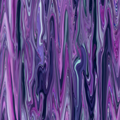 Dreamscape 2 -  Marble - purple, blue, lavender, teal. small scale, vertical orientation, lengthwise orientation