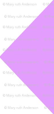 Diamonds- Lavender and White
