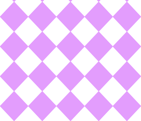Diamonds- Lavender and White fabric by essieofwho on Spoonflower - custom fabric