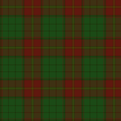 Ulster red district tartan