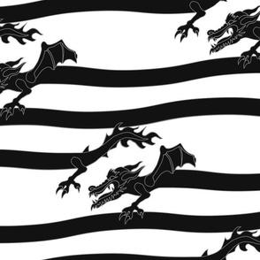 DragonStripe - Black
