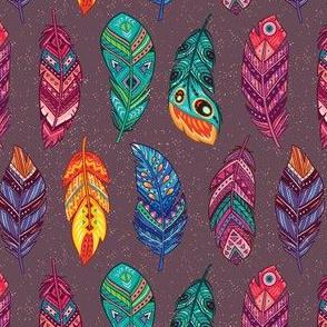 Ethnic feathers