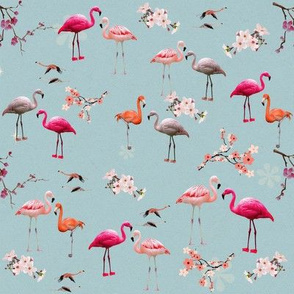 Vintage_Tropical_Flamingo_with_Cherry__Blossom__150dpi