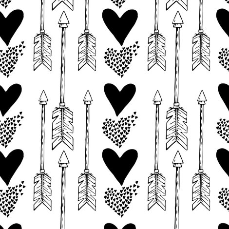 Rrrrarrows_and_hearts_in_black_and_white_shop_preview