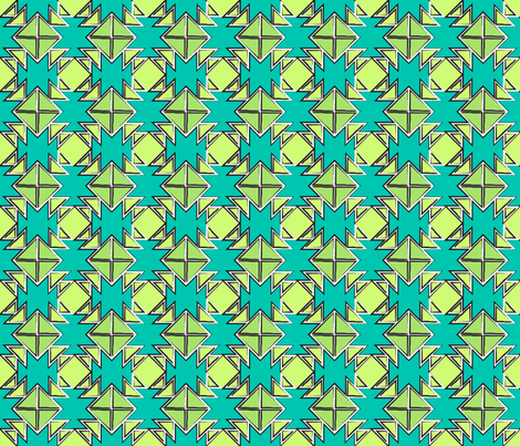 Cacti_2 fabric by northeighty on Spoonflower - custom fabric