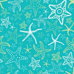 Star Fish Pattern Darker