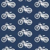 Vintage Motorcycles // Navy