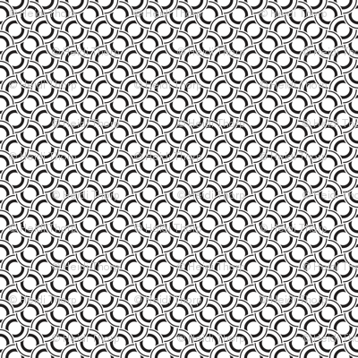 Geometric Black White_21b