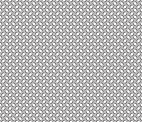 Geometric Black White_21b fabric by northeighty on Spoonflower - custom fabric