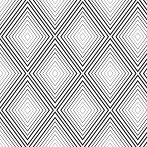 Geometric Black White_27b