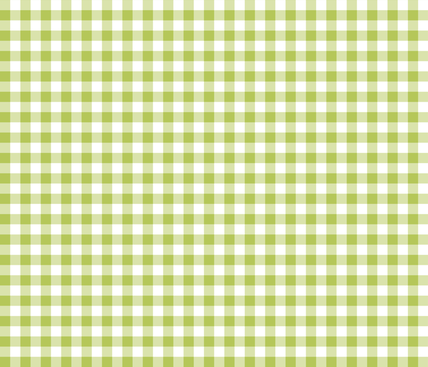 Mini Gingham Green Apple fabric by littlerhodydesign on Spoonflower - custom fabric