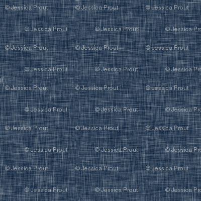navy linen solid