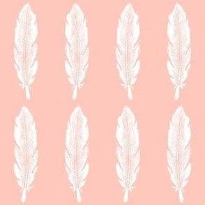 Feather Dusty Pink