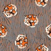 Tiger Tiger textured background