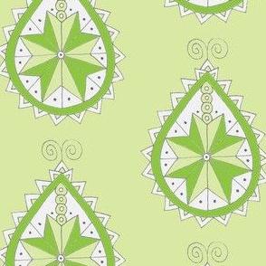 Green southwest teardrop