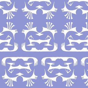 Island Tribal Print 2 - Lavender