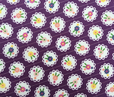 Wedgewood* (Flash) || flowers flower floral doily doilies vintage shabby chic garden lattice polka dots nature leaves garden