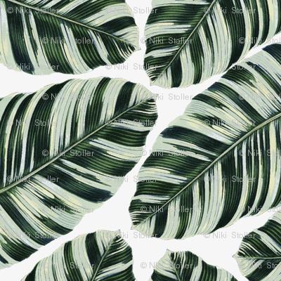 Tropical Foliage Napkins