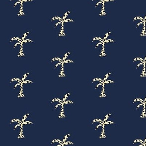 Palm Groove Prep -navy cheetah
