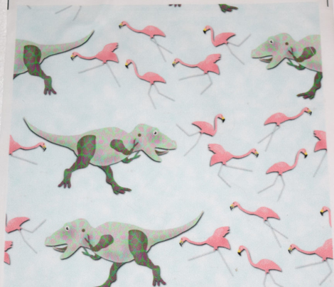 Rtyrannosaurus_rex_vs_lawn_flamingos_comment_701256_preview