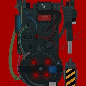 Proton Pack in Red