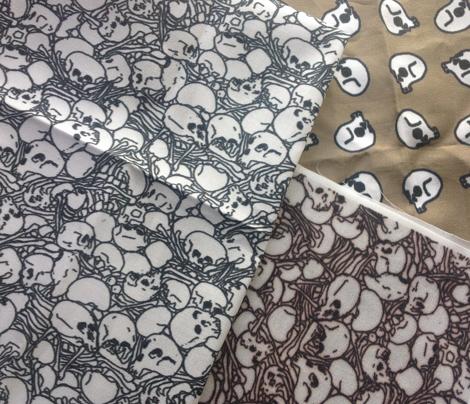 Skulls Bones and More Skulls original
