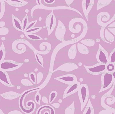 Rapunzel Bodice Floral Smaller