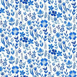 Blue Linum, blue  flax