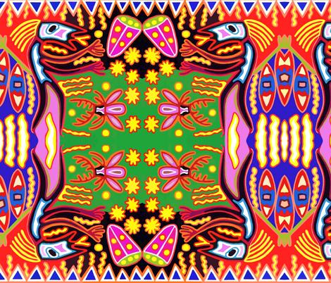Mex Mod 12 fabric by ken_pollard on Spoonflower - custom fabric