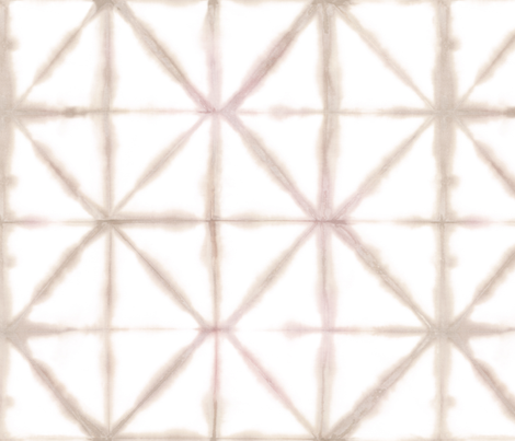 Shibori 18 light beige fabric by theplayfulcrow on Spoonflower - custom fabric