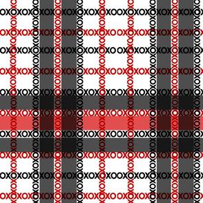 XOXO Red & Black Plaid