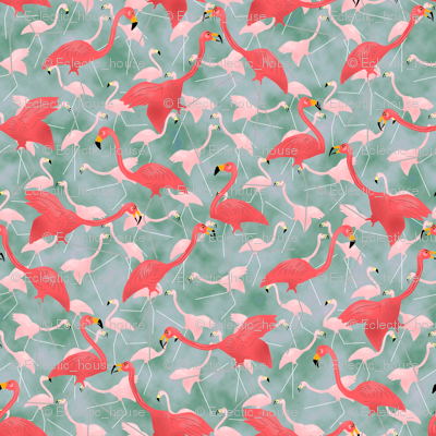 Lawn Flamingo Hot Pink 6
