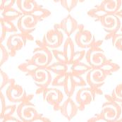 Modern Damask Blush Pink