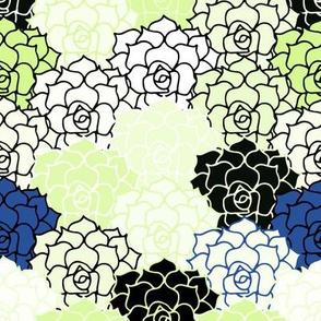 Pop Geo Cactus Flower