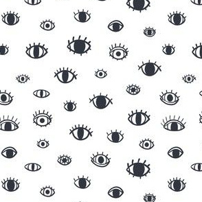 Eyes abstract pattern