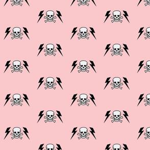 lightening_skull-punk pink