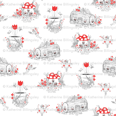 Fairy Village Red