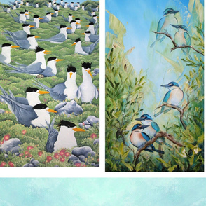 scarves_terns_and_kingfisher