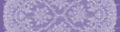Purple Lace with border