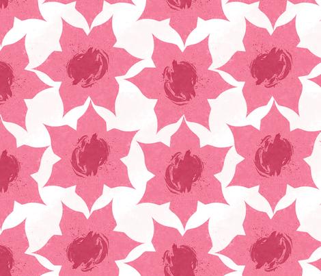 flower fabric by iyami on Spoonflower - custom fabric