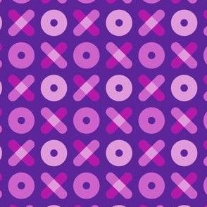 Tic Tac Toe, Purple