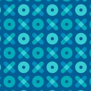 Tic Tac Toe, Blue