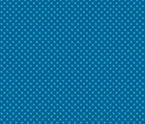 Blue Crisscross fabric by magentayellow on Spoonflower - custom fabric