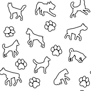 Dogs n Paws // Outline