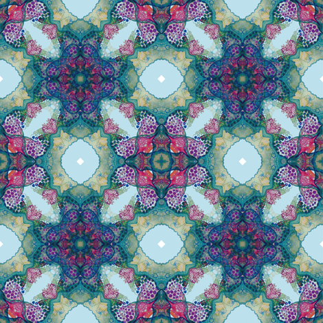 Coral fabric by arrpdesign on Spoonflower - custom fabric