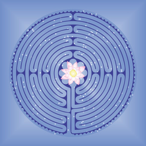Lotus Labyrinth Large